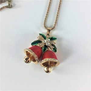 Betsey Johnson Holiday Season Bells Red Green
